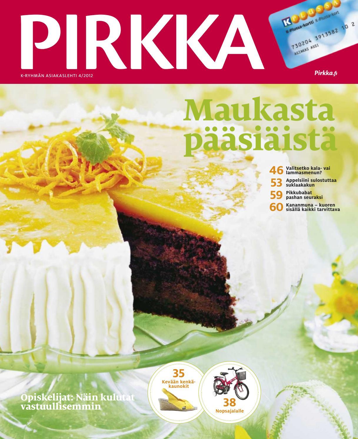 PIRKKA 4 2012 by Ruokakesko - issuu 0549ee2906