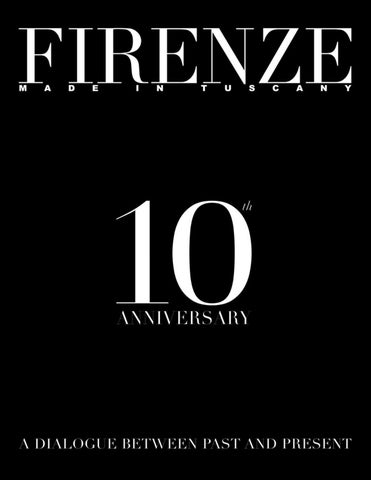Firerenze made in tuscany anniversary n40 by Gruppo Editoriale srl ... 1a4dcdcb4cf
