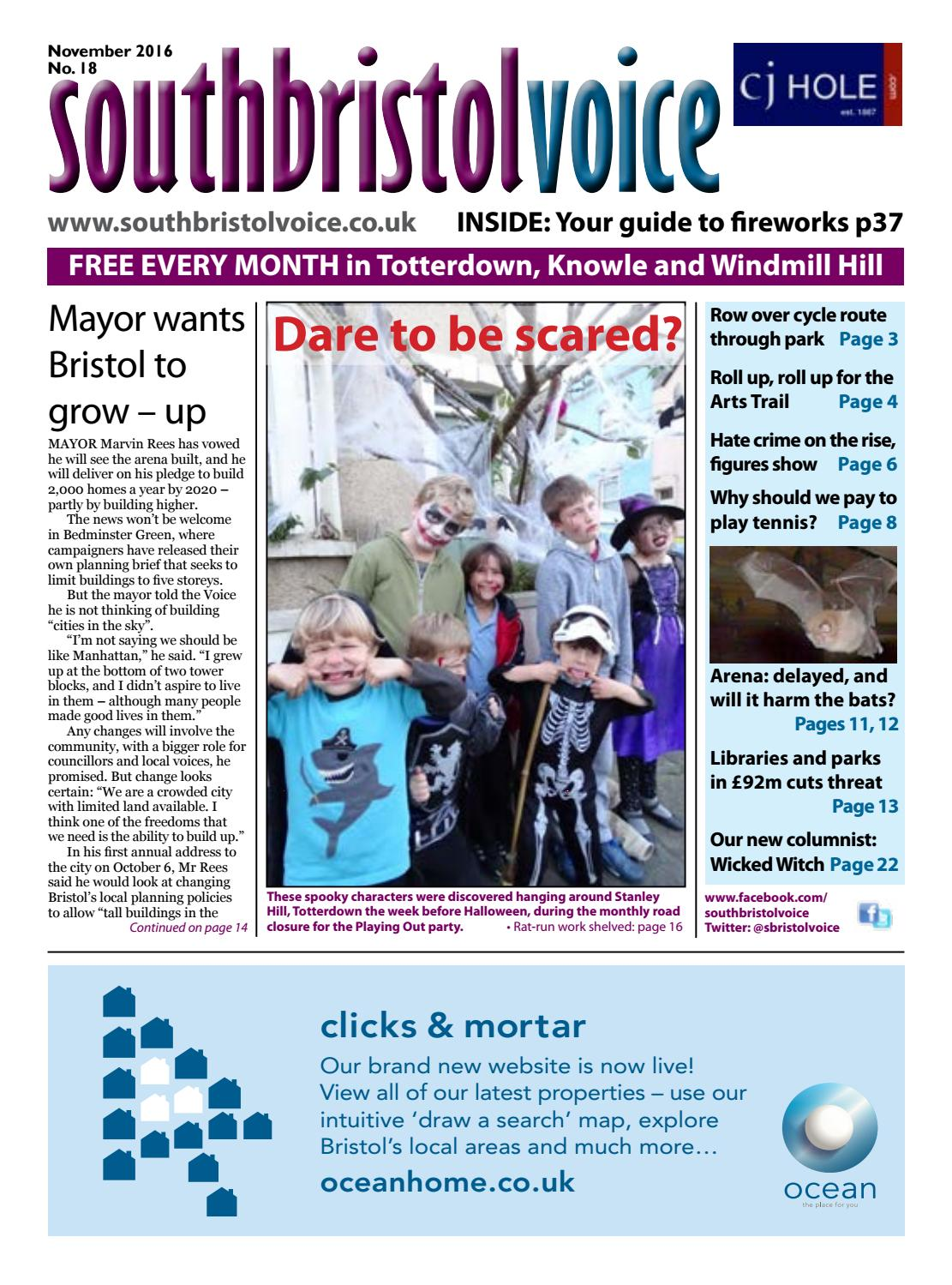 South Bristol Voice November 2016 By South Bristol Voice