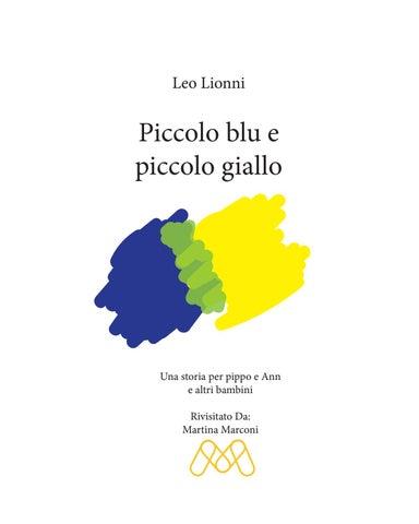 Piccolo Blu E Giallo Lionni
