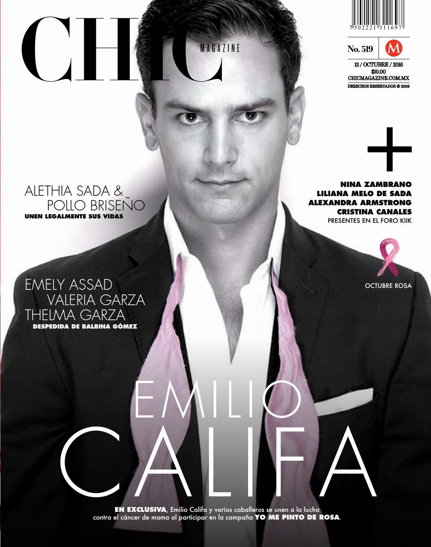 Chic Magazine Monterrey, núm. 519, 13/oct/2016 by Chic Magazine ...