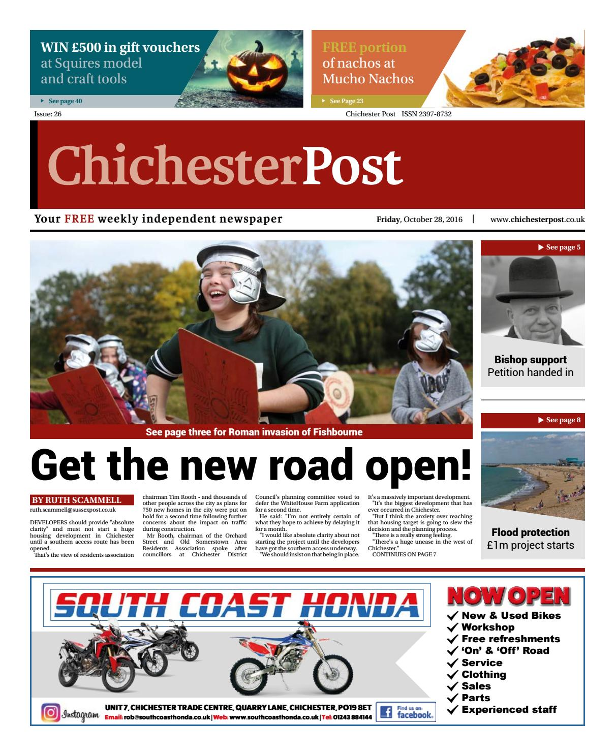 Chichester Post Issue 26 By Post Newspapers Issuu