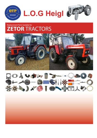 8 zetor log heigl by Quality Tractor Parts - issuu