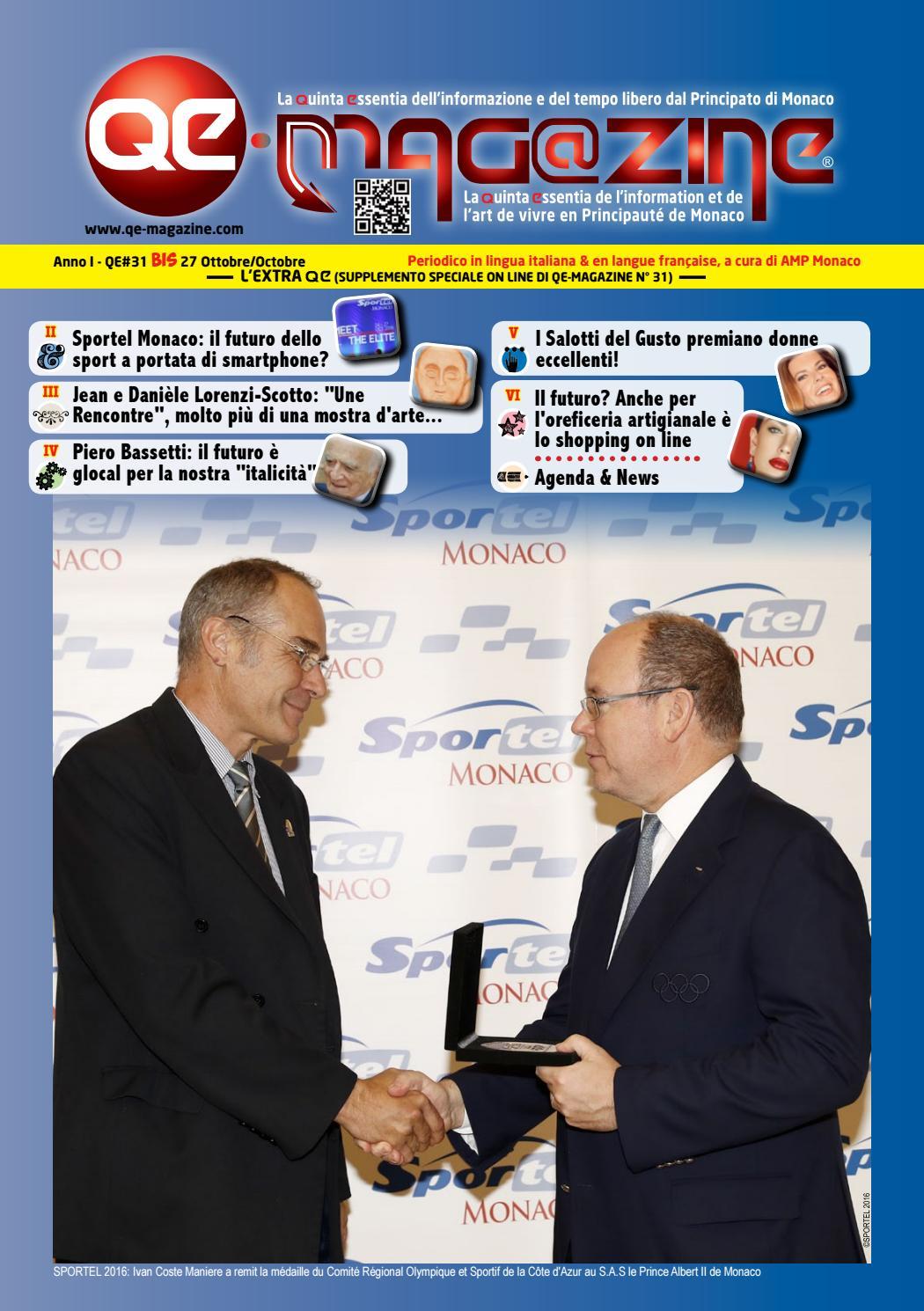 I Salotti Del Gusto.Qe Magazine Principaute De Monaco N 31 Bis De Amp Monaco By Amp