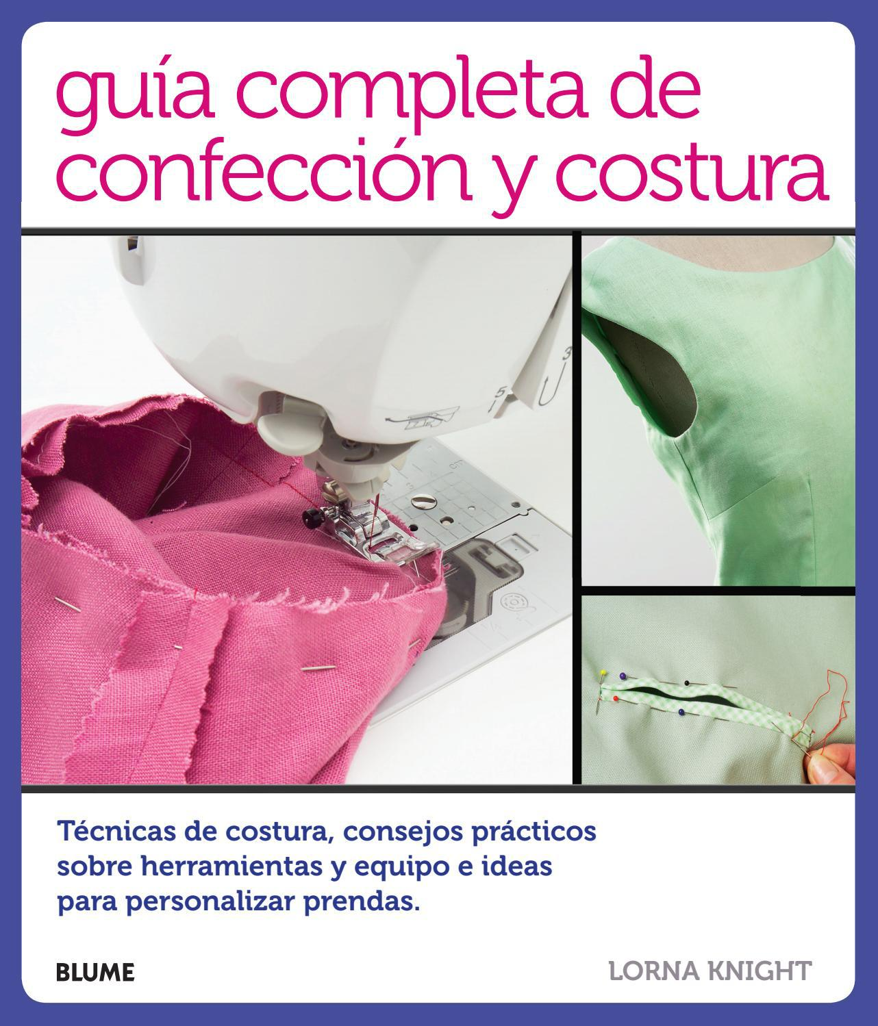 Guía completa de confección y costura by Editorial Blume - issuu