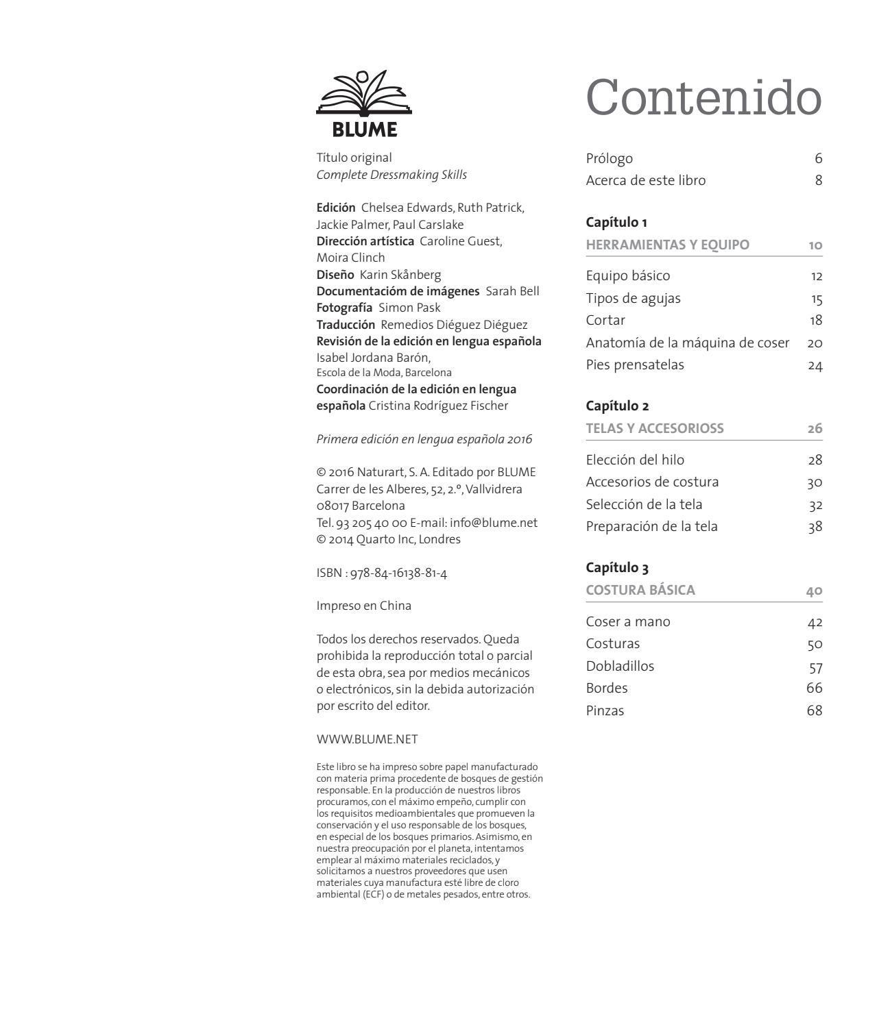 Guía completa de confección y costura by Editorial Blume - issuu
