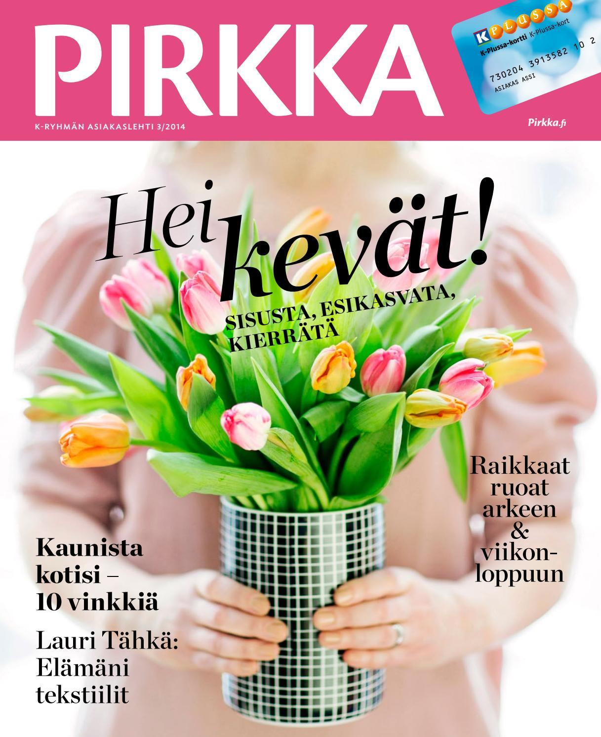 PIRKKA 3 2014 by Ruokakesko - issuu e29d51b762