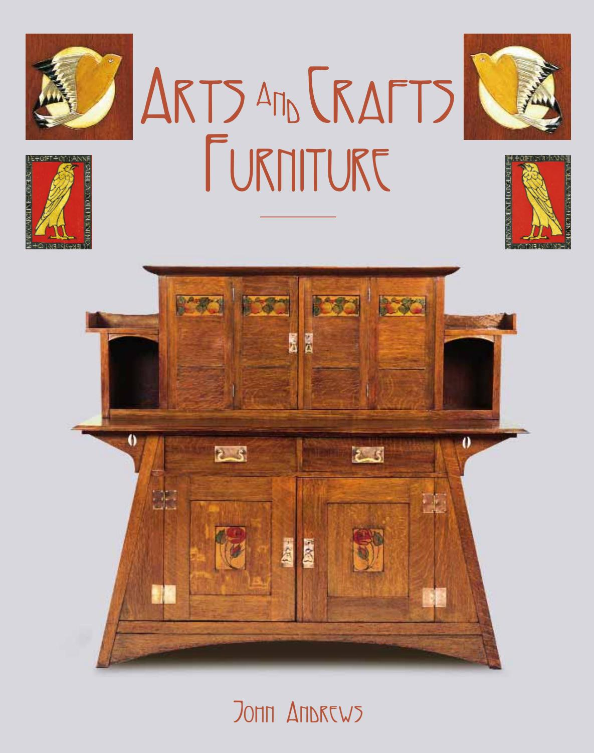 Arts And Crafts Furniture By Acc Art Books Issuu