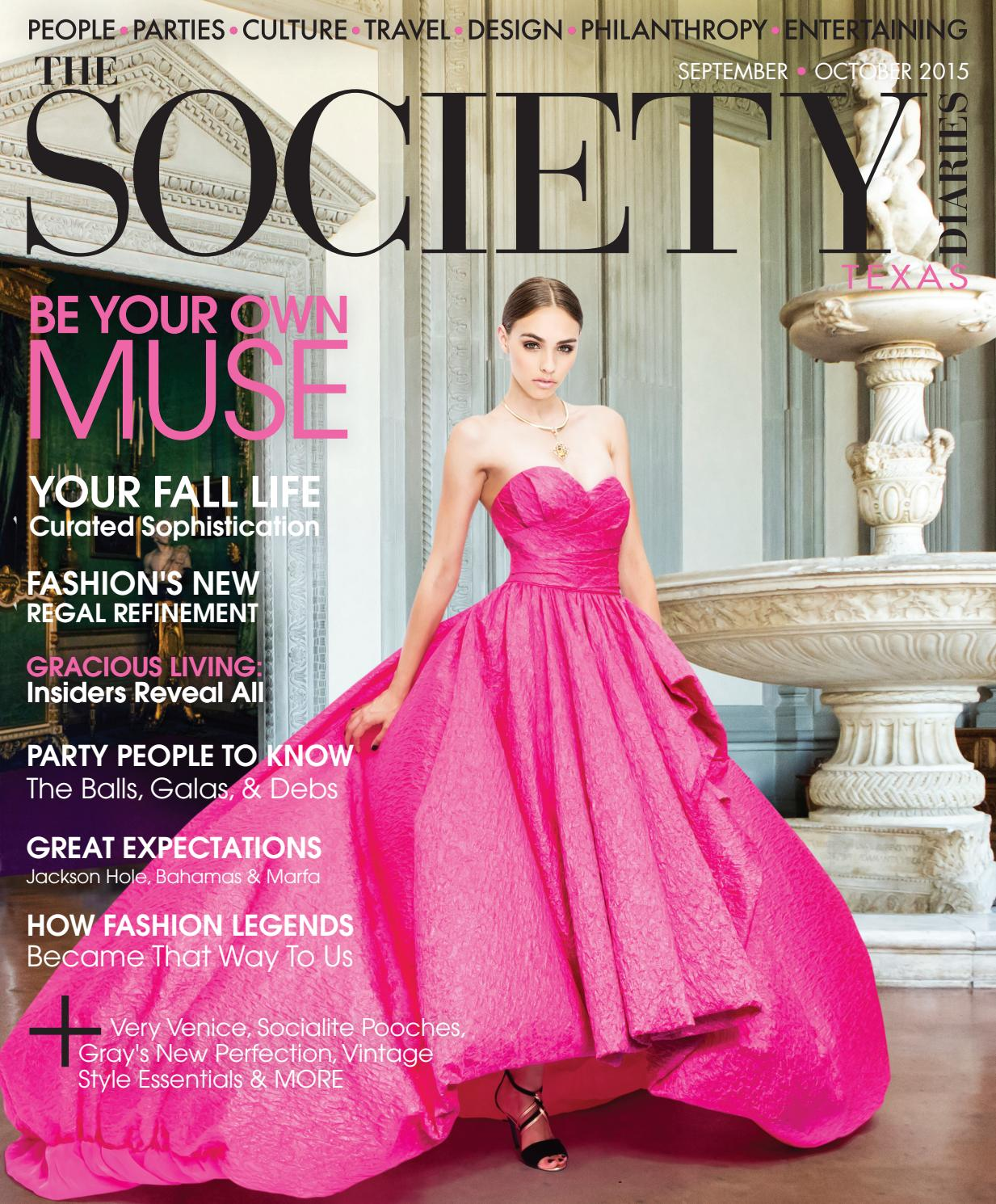 The Society Diaries | September-October 2015 by The Society Diaries ...