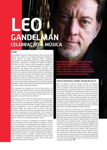 Page 17 of LEO GANDELMAN: CELEBRA\u00C7\u00C3O \u00C0 M\u00DASICA