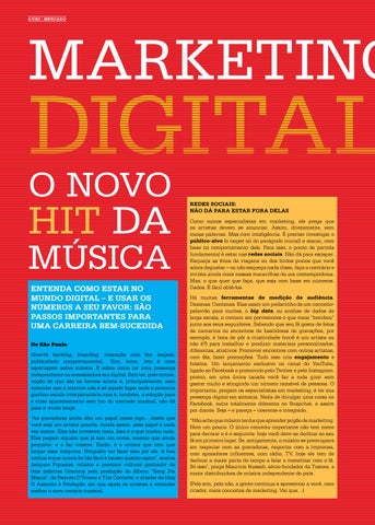 Page 8 of Marketing Digital, o novo hit da m\u00FAsica