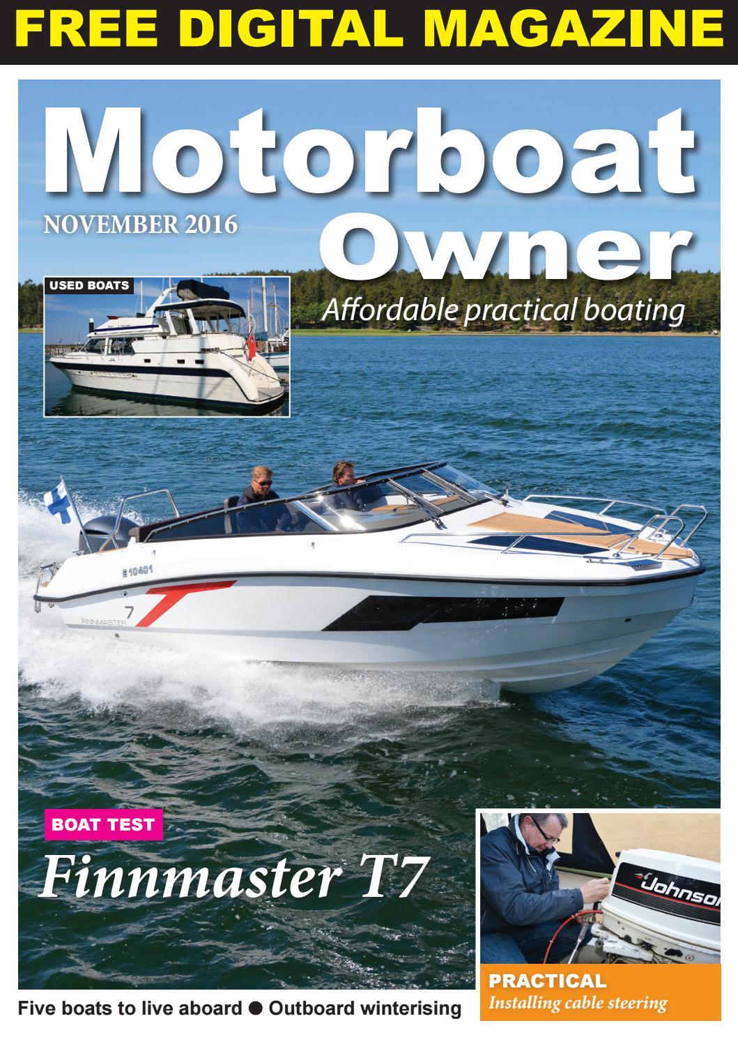 Motorboat Owner November 2016 by Digital Marine Media Ltd - issuu