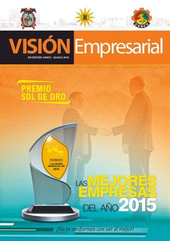 Revista Vision Empresarial Uancv Edicion Xxi By Administracion Y
