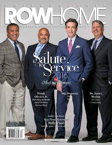 Salute To Serviceblue Sapphire 2016 By Philadelphia Rowhome