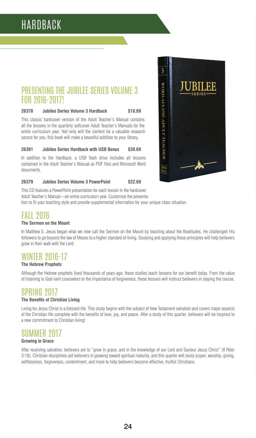 Pentecostal Publishing House Winter 2016-17 Catalog by Pentecostal