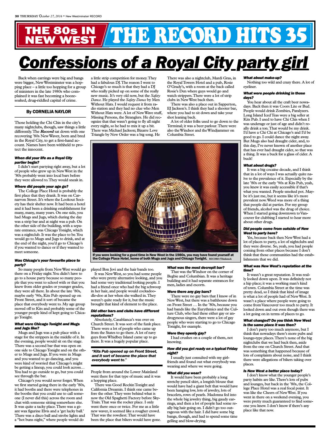 Royal City Record 35th Anniversary