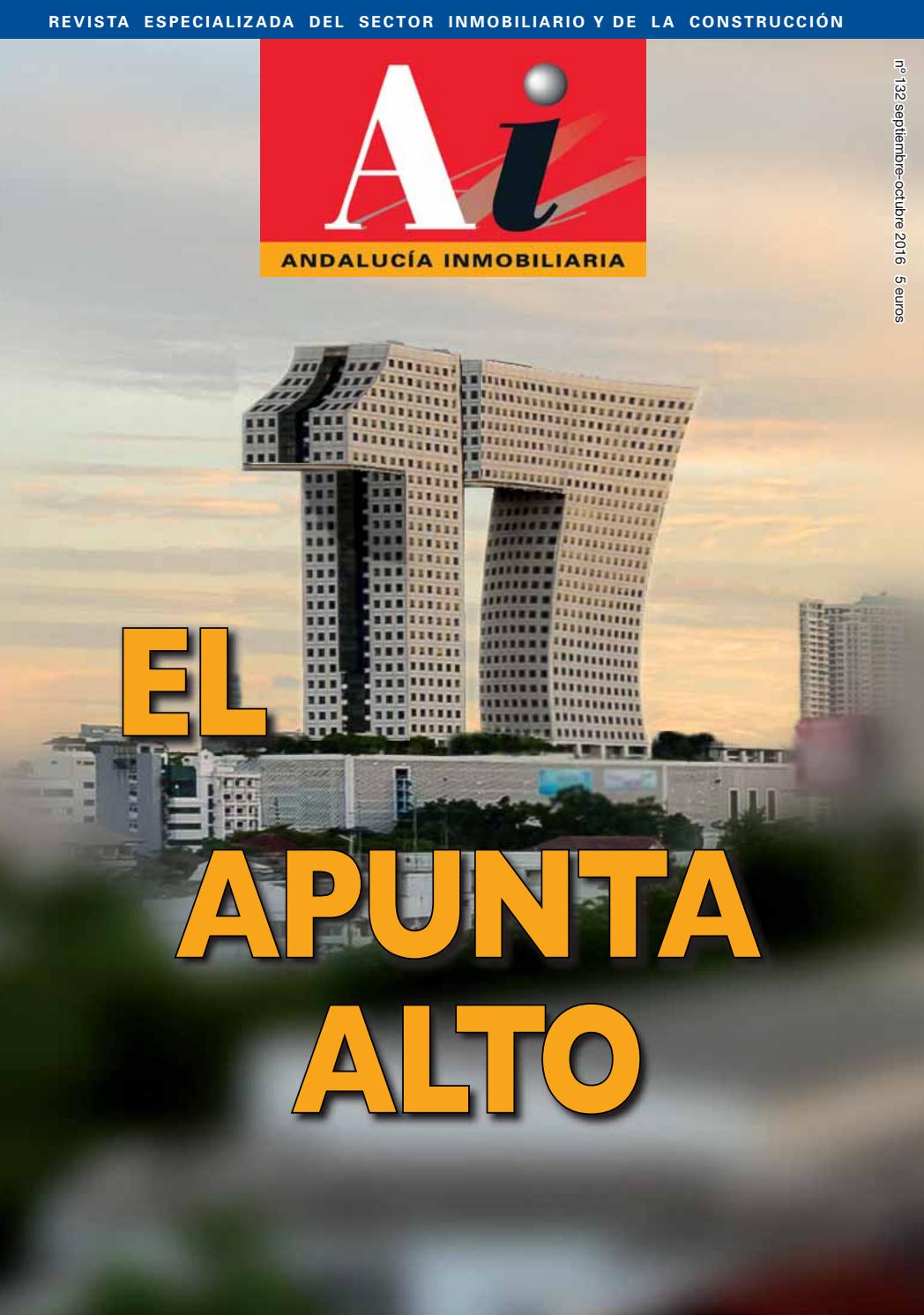 Andalucía Inmobiliaria 132 by Andalucía Inombiliaria - issuu