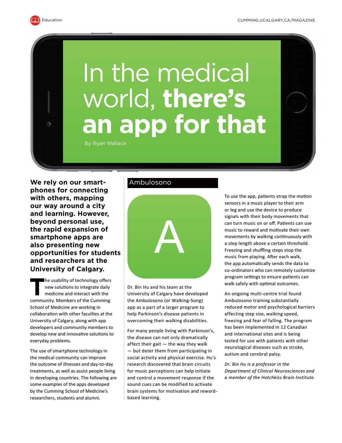 Ucalgary Medicine Fall 2016 By Cumming School Of Issuu Circuit In Parallel The Same Way As What Many People Usually Do