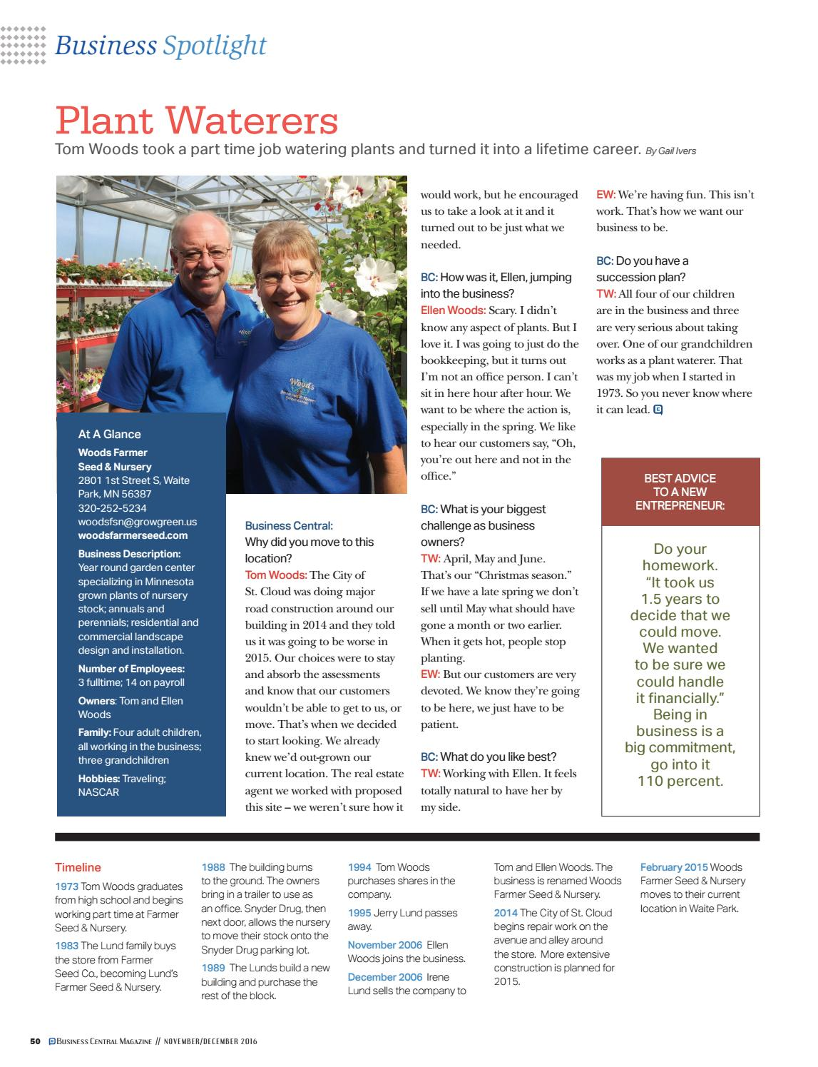 November/December 2016 by St  Cloud Area Chamber of Commerce - issuu