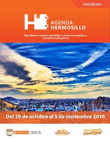 """Cover of """"Agenda Hermosillo 28 octubre 2016"""""""