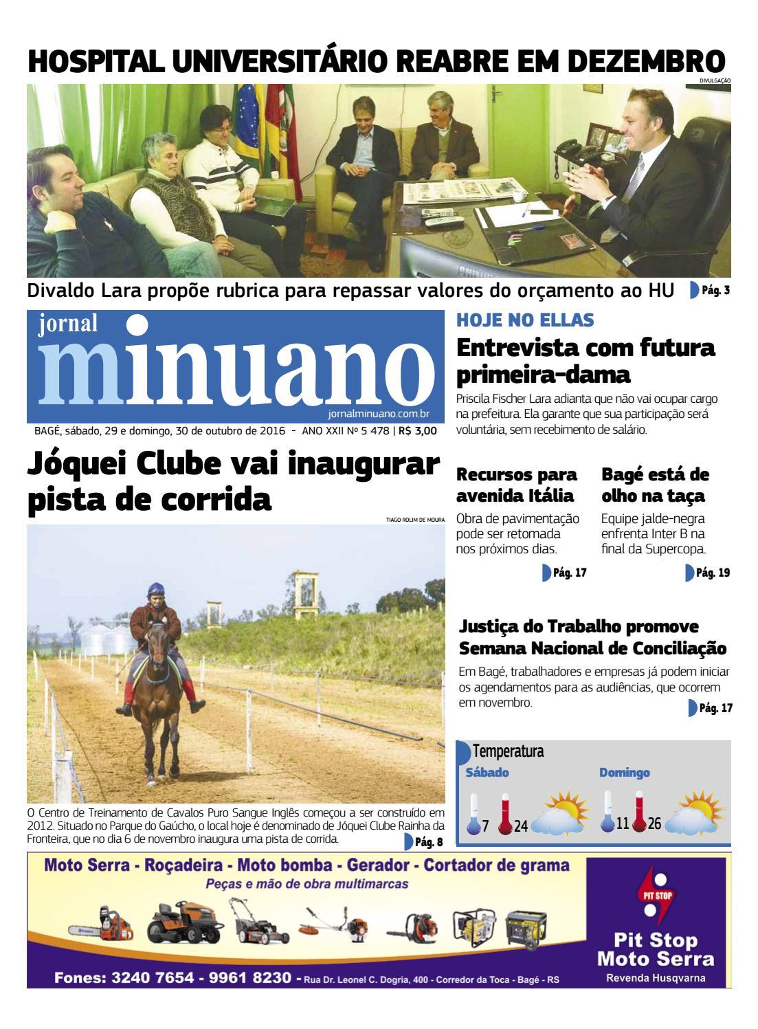20161029 by Jornal Minuano - issuu fc8a76fd96b6a