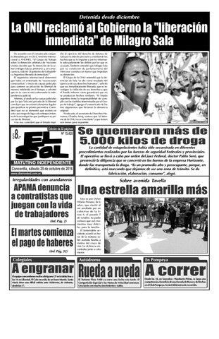 Diario El Sol (Sábado 29 octubre 2016) by Diario El Sol - issuu 71f6f0e1fe238