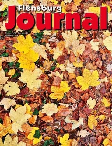 Flensburg Journal 170 November 2016 by verlagskontor-adler - issuu