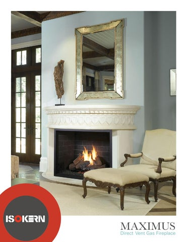 Maximus Direct Vent Gas Fireplace
