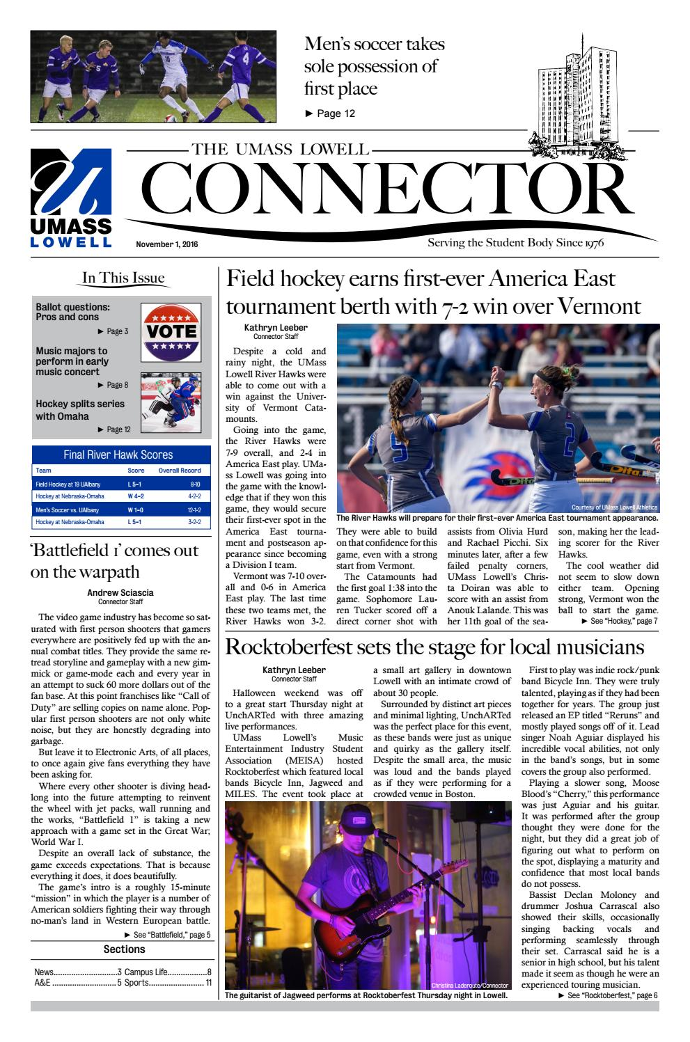 The Connector - November 1, 2016 by The Connector - issuu