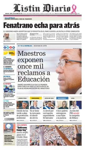 LD 31102016 by Listín Diario - issuu 1792d099c7a