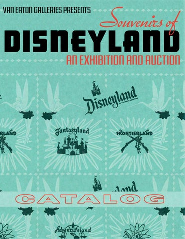 Souvenirs of disneyland by van eaton galleries issuu page 1 freerunsca Choice Image