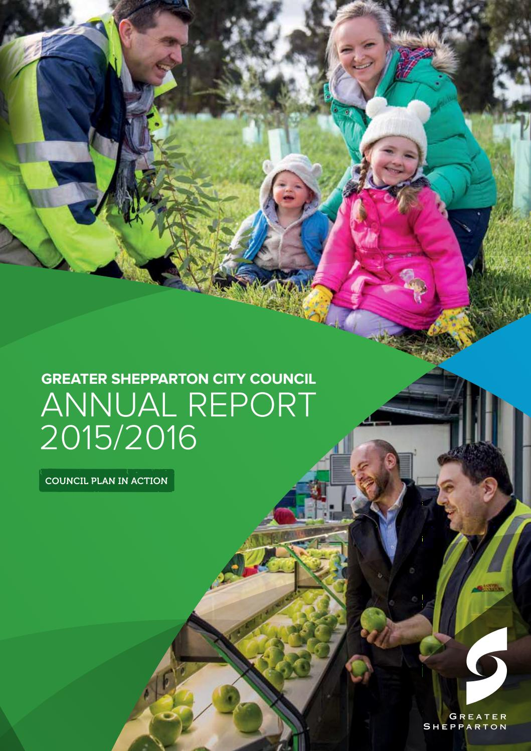 Kinder Garden: Greater Shepparton City Council Annual Report 2015/16 By