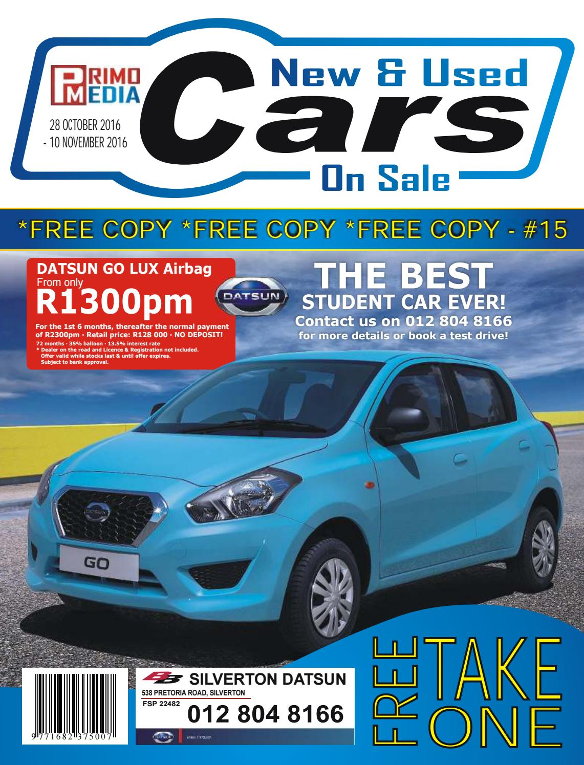 Issue 15 - New & Used Cars on sale by Juan Bezuidenhout ...
