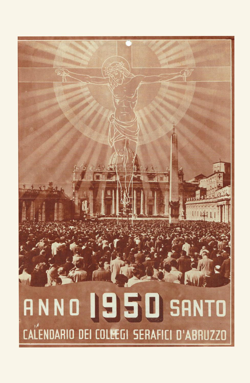 Calendario 1950.Voce Serafica Calendario 1950 By Padreurbano Issuu
