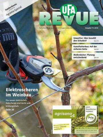 UFA-Revue 11/2016 by fenaco Genossenschaft - issuu