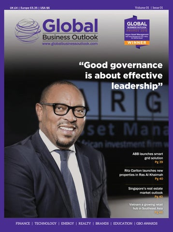 Global Business Outlook Issue 01 2016 by Global Business
