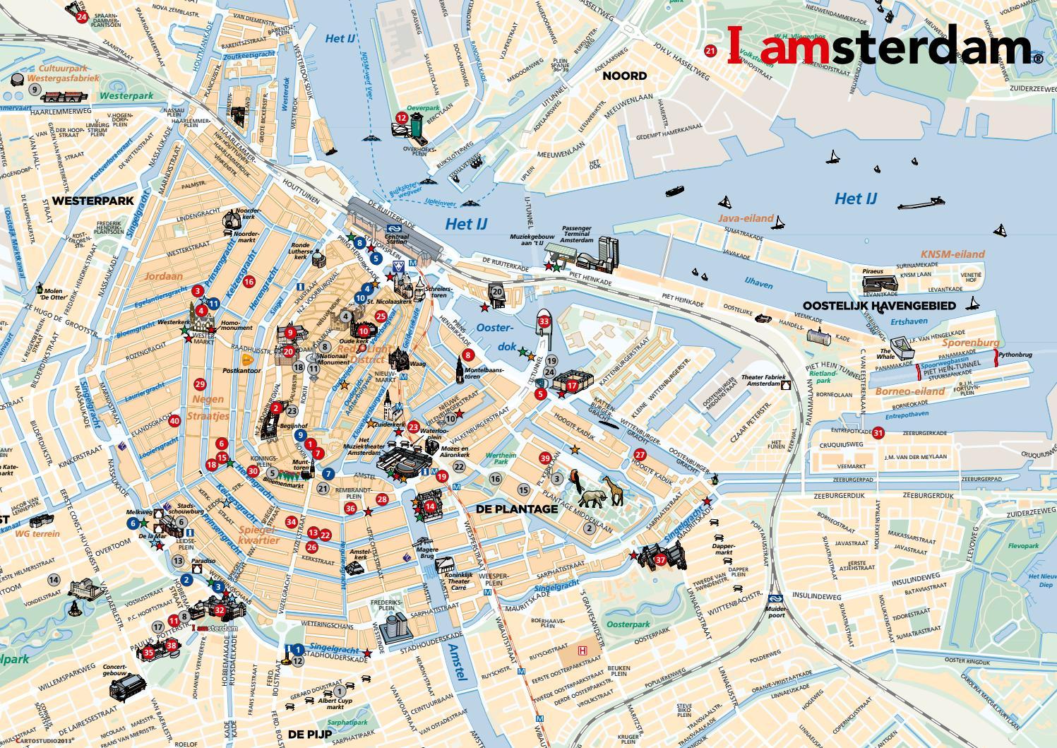 Mapa De Amsterdam Centro.Mapa De Amsterdam By Rc Celta Issuu