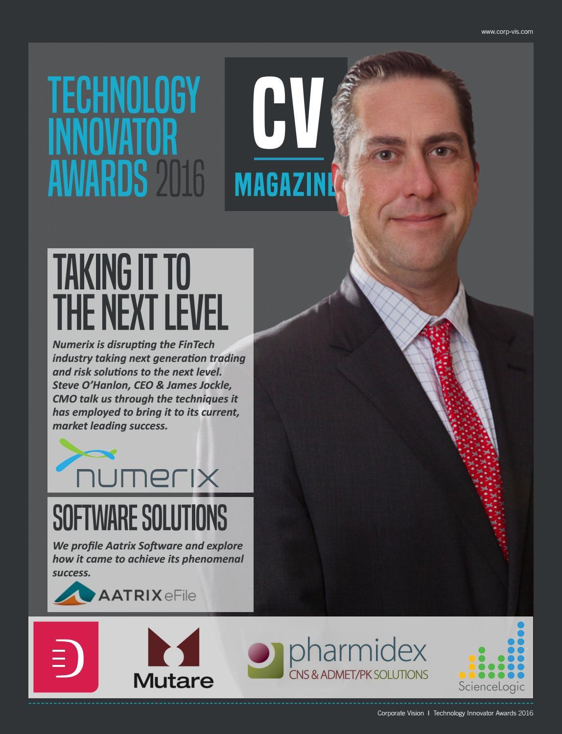 fed18eed4cc CV 2016 Tech Innovator packages by AI Global Media - issuu