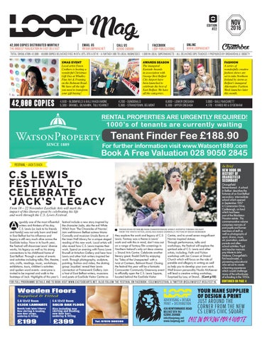 Loop Mag East Belfast November 2016 By Loop Publications