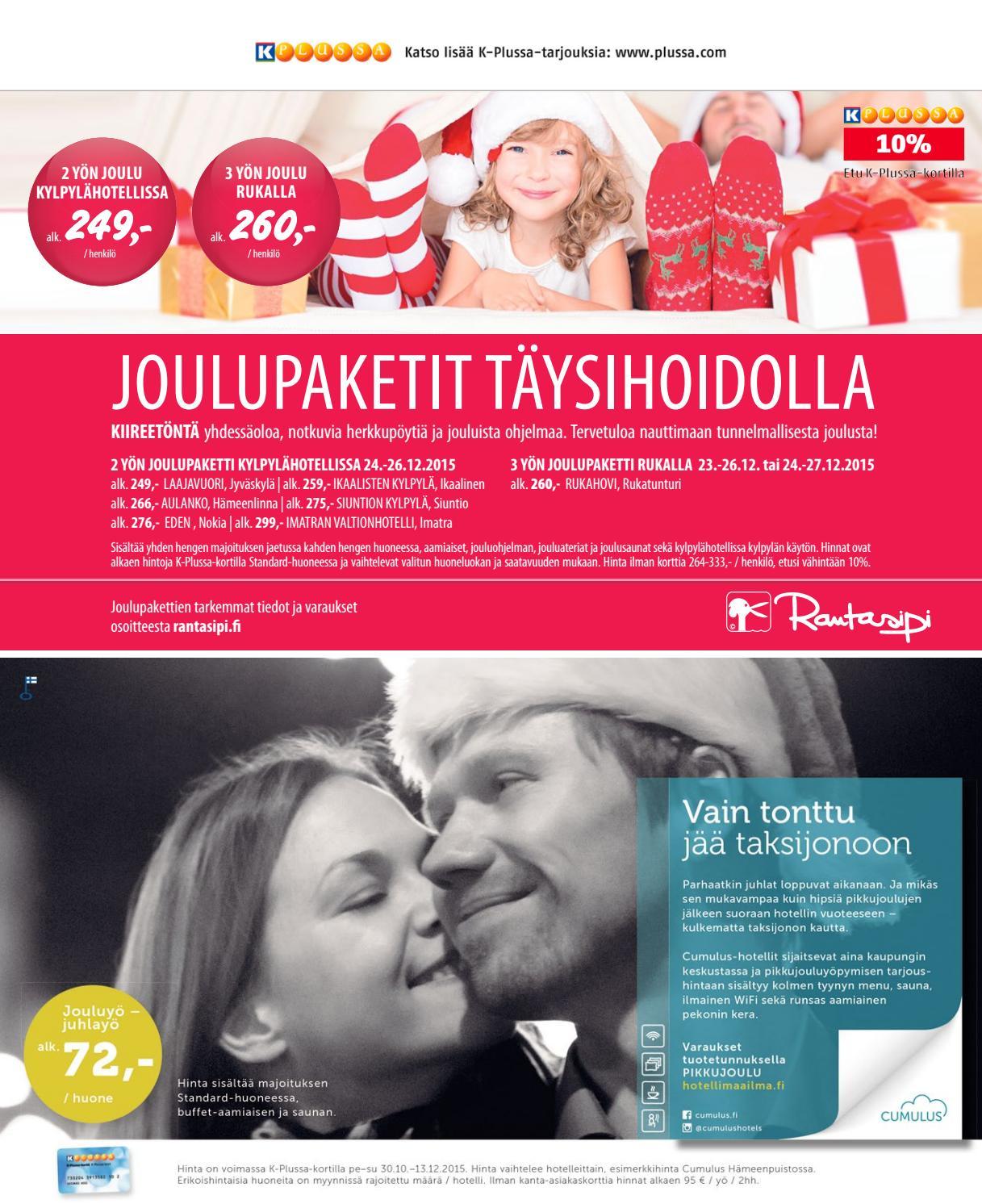joulu 2018 ikaalisten kylpylä PIRKKA 11/2015 by Ruokakesko   issuu joulu 2018 ikaalisten kylpylä