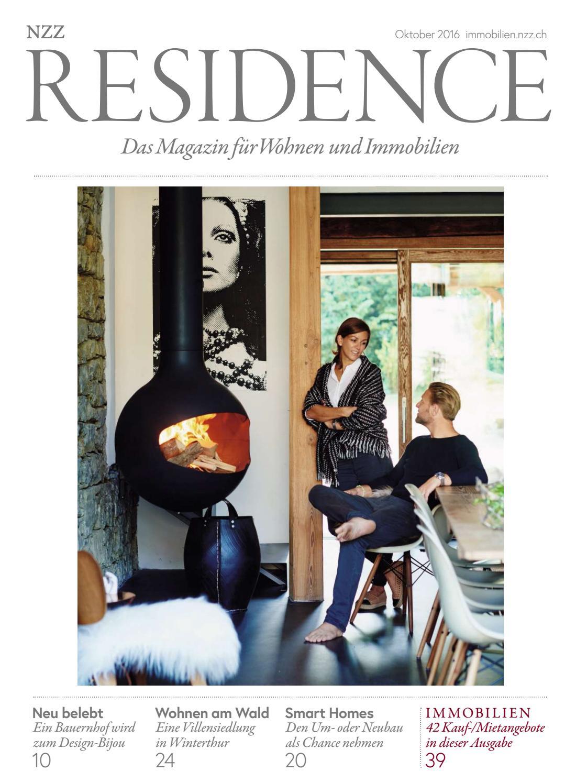 Residence Oktober 2016 by NZZ Residence - issuu
