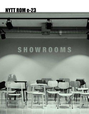 9cca62e3 Showrooms by Nytt Rom Nytt Rom - issuu