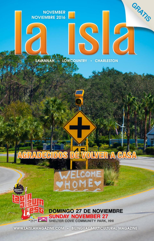 La Isla Magazine November 2016 by E & F Publishing - issuu