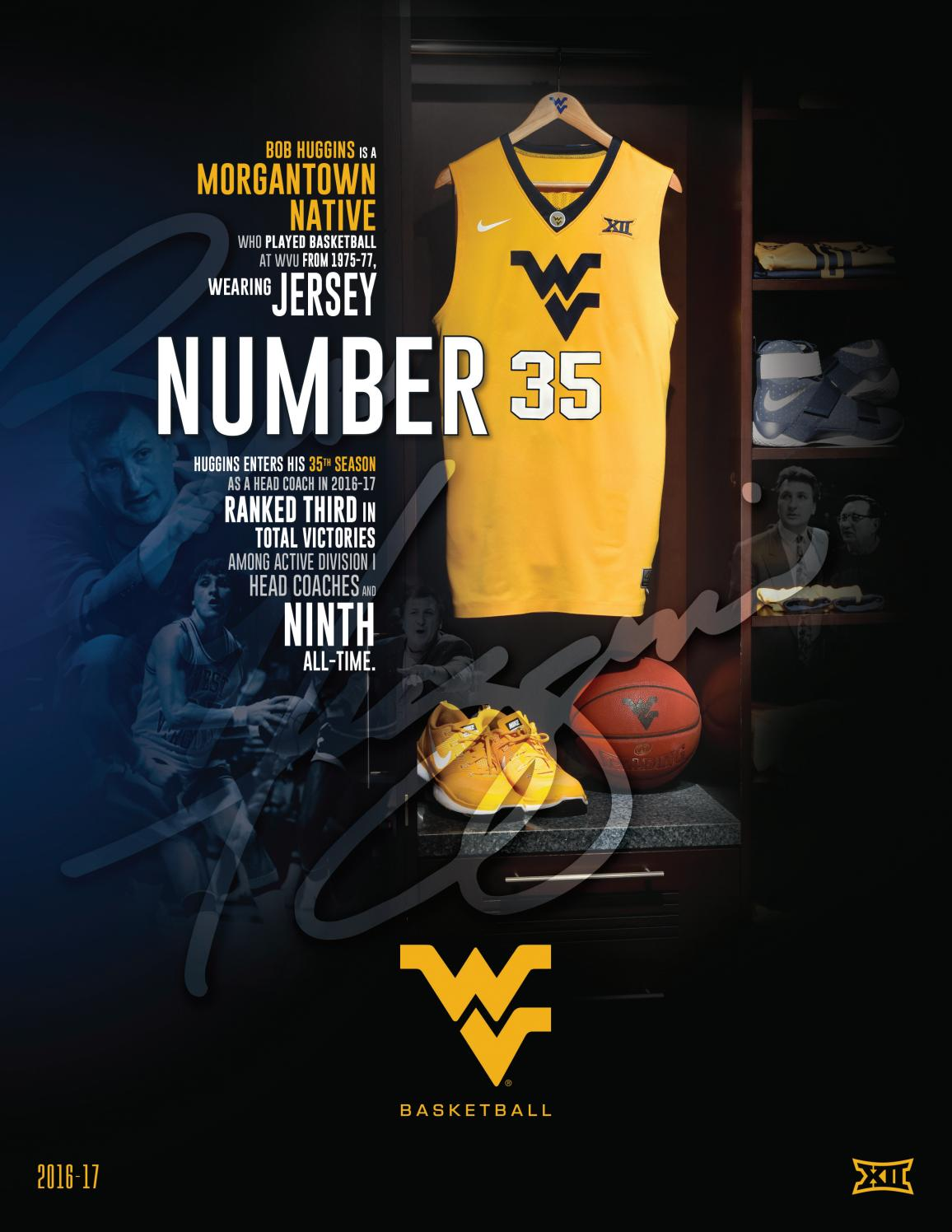 2016-17 WVU Men s Basketball Guide by Joe Swan - issuu d3019d033