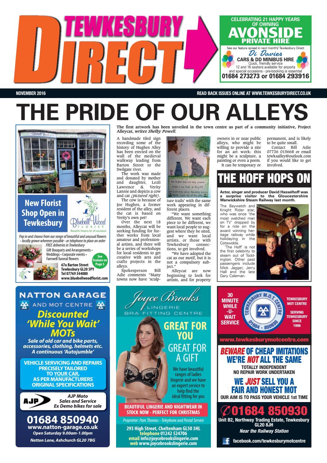 3a7ba449f8b2 Tewkesbury Direct Magazine November 2016 by Tewkesbury Direct Magazine -  issuu