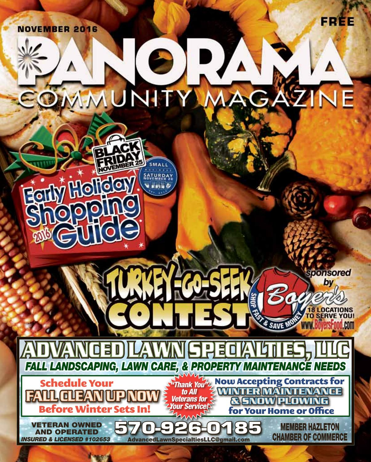 Kitchen gallery design center north broad street west hazleton pa - Panorama Community Magazine November 2016 By Panorama Community Magazine Issuu