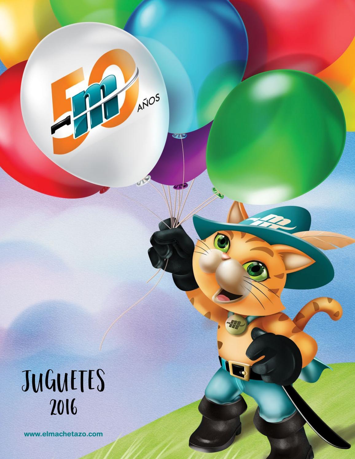 Catálogo de Juguetes 2016 by El Machetazo - issuu