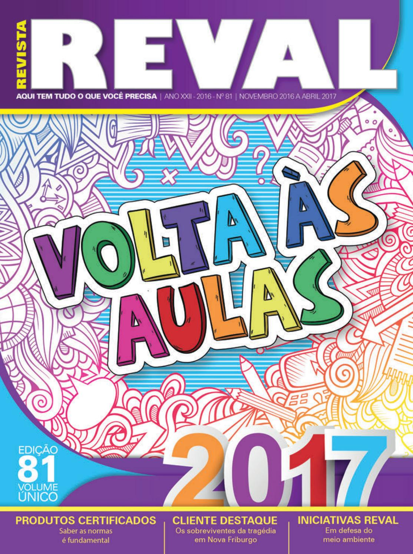 Revista Reval 81 - Parte 01 by Reval Atacado de Papelaria Ltda. - issuu a58fa23c2a743