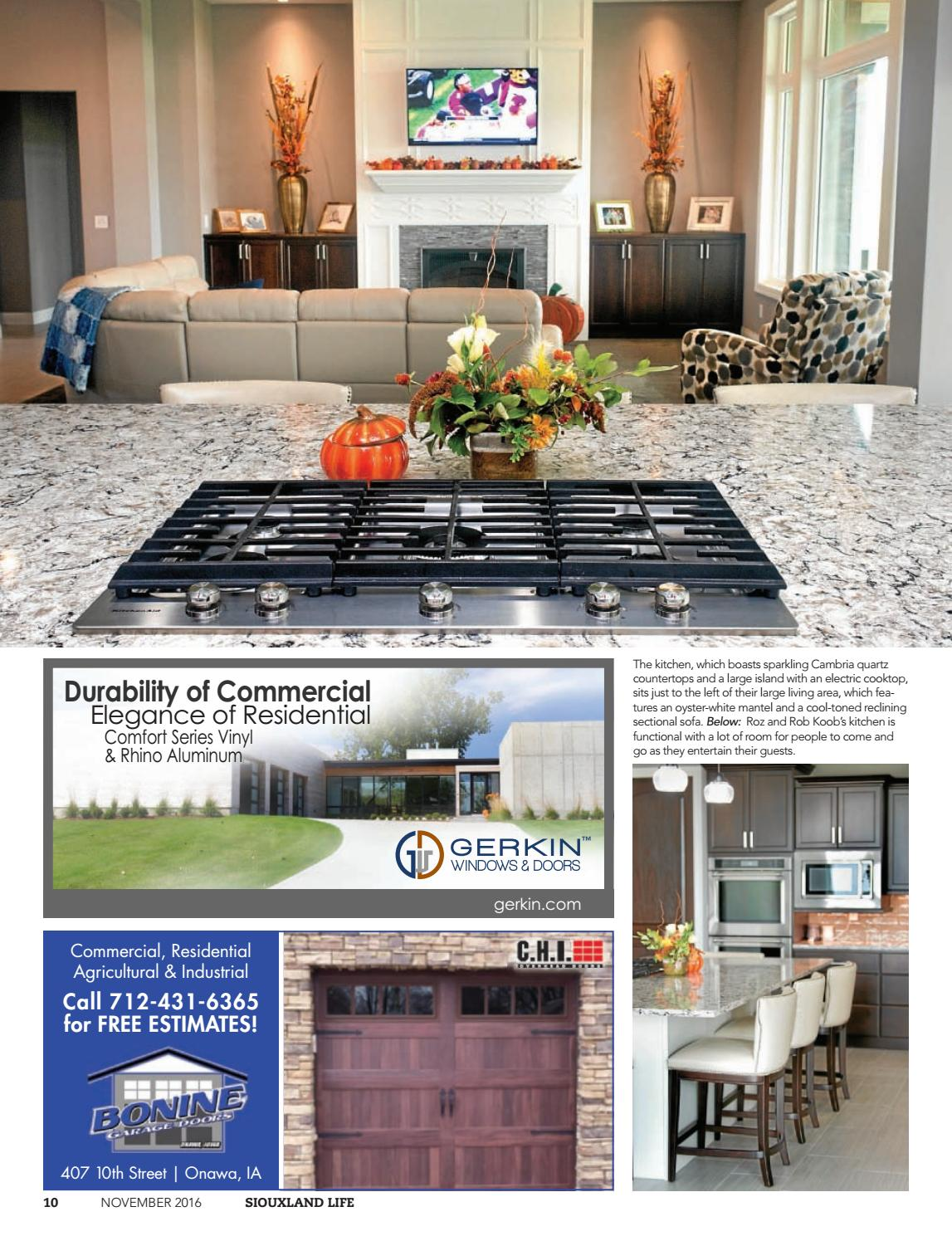 Super Siouxland Life November 2016 By Sioux City Journal Issuu Gmtry Best Dining Table And Chair Ideas Images Gmtryco