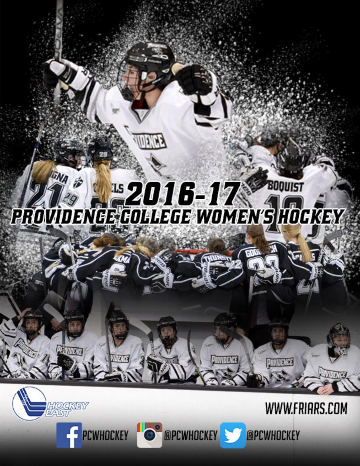 Women s Ice Hockey 2016-17 Guide by Providence College - issuu 9d64c85f2
